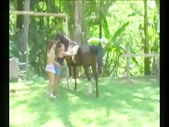 Girl and Horse Dildo webcam